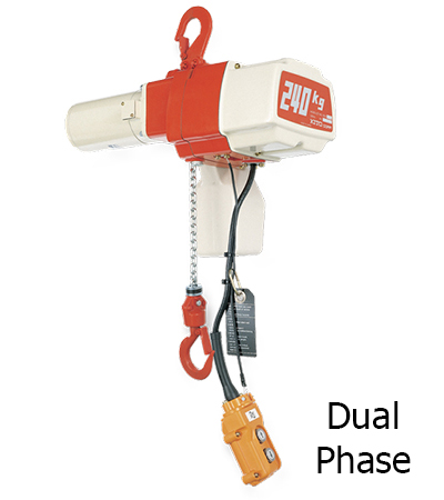 KITO EDL Dual Phase Electric Chain Hoist