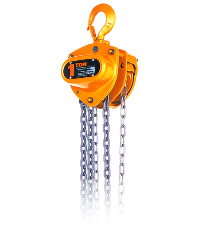 KITO M3CB Steel Body Chain Fall