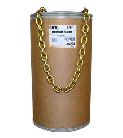 Grade 70 Alloy Tie-Down Chain Drum