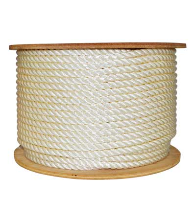 Nylon 3-Strand Rope: Reel