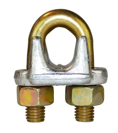 Forged Golden Wire Rope Clips